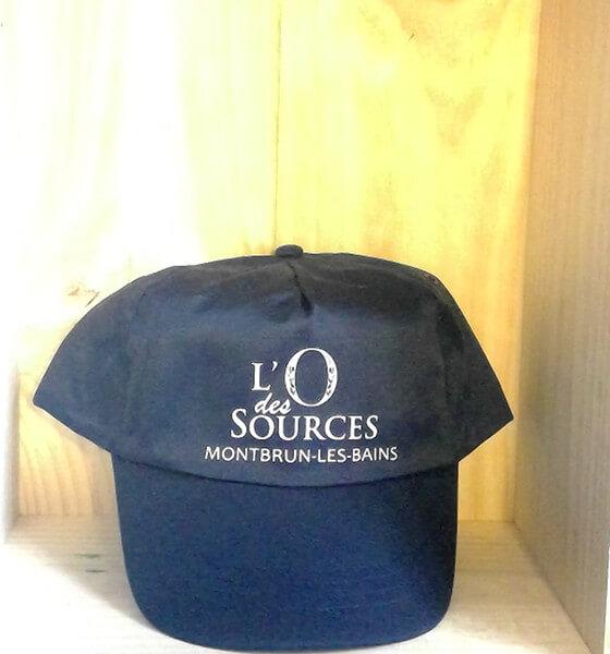 Casquette «L'O des Sources» 1