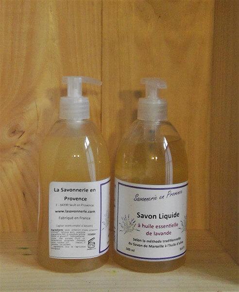 Savon Liquide à L'Huile Essentielle de Lavande 1