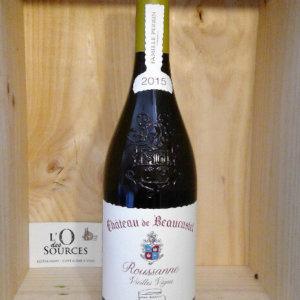Châteauneuf du Pape - Château de Beaucastel 2015 Vieilles Vignes