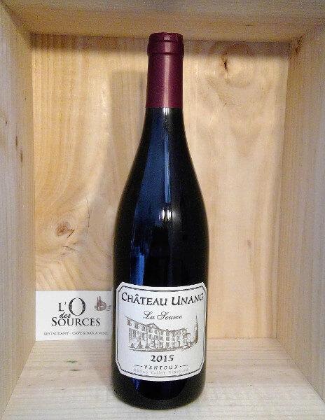 Château Unang «La Source» 2015 1