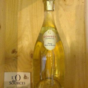 Champagne Gosset Grand Blanc de Blanc